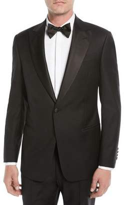 Emporio Armani Men's Super 130s Wool Two-Piece Tuxedo Suit