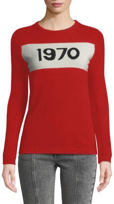 Bella Freud 1970 Graphic Pullover Sweater