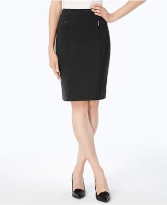 Alfani Ponte Pencil Skirt