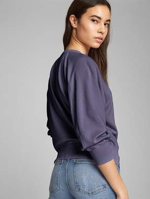 Gap Crewneck Pullover Sweatshirt in French Terry