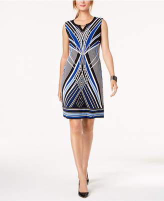 JM Collection Embellished Sheath Dress, Created for Macy's