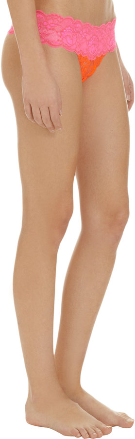 Cosabella Two-Tone Low Rise Thong