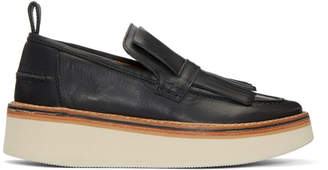 Flamingos Black Trianon Platform Loafers
