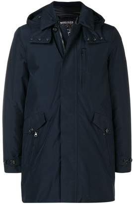 Woolrich hooded down coat