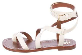 Tory Burch Patos Crossover Sandals