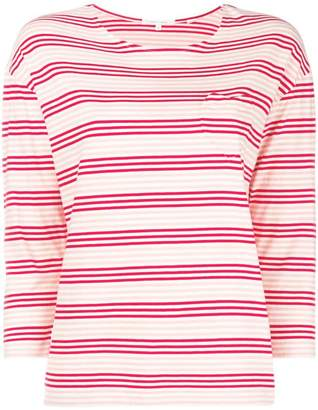 Parker Chinti & striped fitted sweater