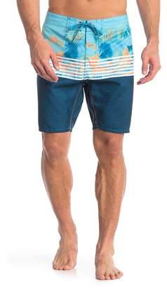 Burnside Print Board Shorts