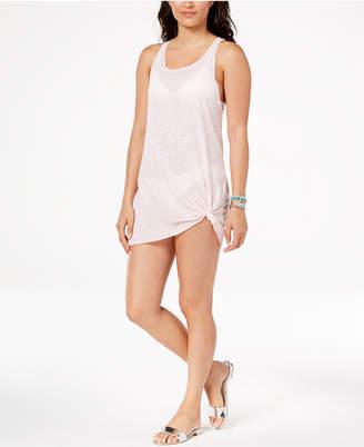 Miken Juniors' Sheer Tank Dress Cover-Up, Created for Macy's Women's Swimsuit