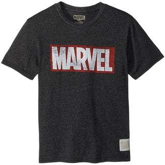 The Original Retro Brand Kids Marvel Short Sleeve Mock Twist Tee Boy's T Shirt