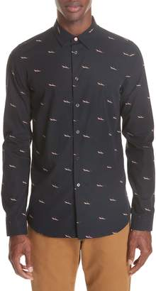 Paul Smith Shark Print Sport Shirt