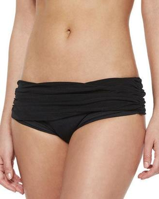 Norma Kamali Bill Low-Rise Swim Bottom $175 thestylecure.com