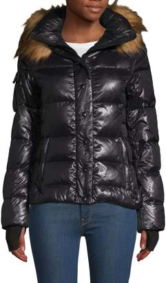 S13 S 13/Nyc Faux Fur-Trimmed Puffer Jacket