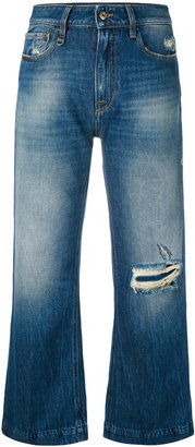 Cycle distressed cropped jeans $202.85 thestylecure.com