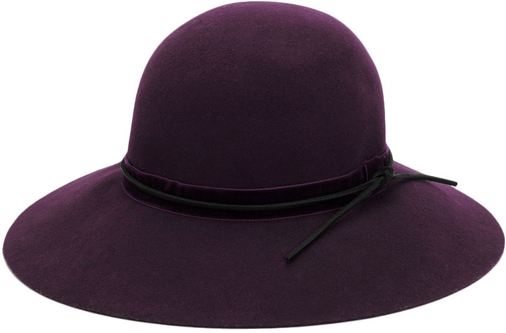 Rag and Bone Dunaway Hat - Port