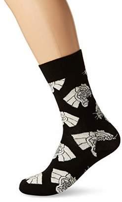 Happy Socks Men's Mountain Lion Socks,(Manufacturer Size: 41-46)