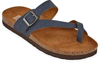 Arizona Ophelia Womens Adjustable Strap Footbed Sandals