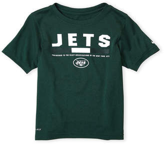 Majestic Boys 8-20) Jets Logo Dri-Fit Tee