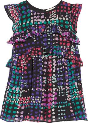 Kate Spade Polka Dot Ruffle Dress