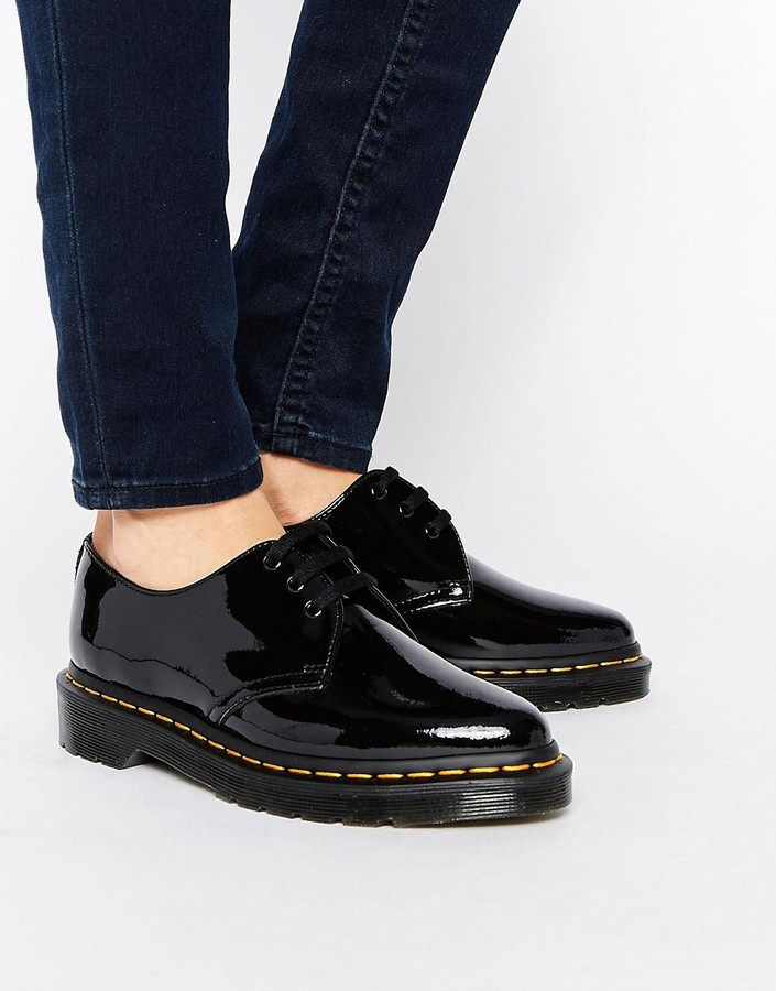 Dr. Martens Dr Martens Dupree 3 Eye Point Flat Shoes