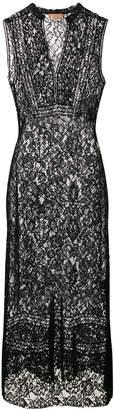 Ermanno Scervino lace flared midi dress