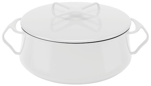 Dansk Kobenstyle Casserole 4qt White