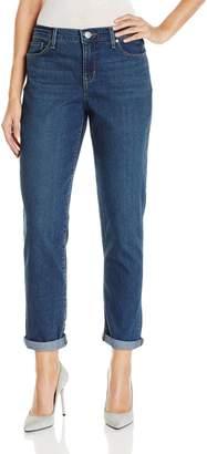 Gloria Vanderbilt Women's Monica Roll-Cuff Ankle Jean, Anaheim Wash