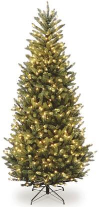 National Tree Company 10-ft. Pre-Lit Fraser Fir Slim Artificial Christmas Tree