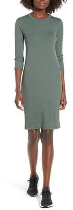 --- Ribbed Body-Con Minidress