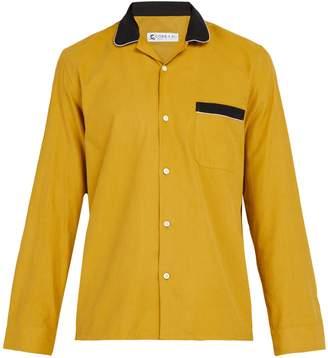 COBRA S.C. Cabriolet cotton-corduroy shirt