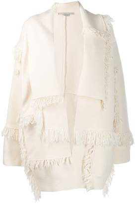 Stella McCartney fringed layered cardigan