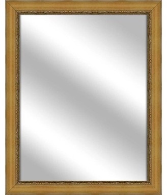 PTM Images Vanity Mirror, Antique Gold, 25.75x31.75