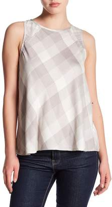 Olive + Oak Olive & Oak Sleeveless Print Shirt