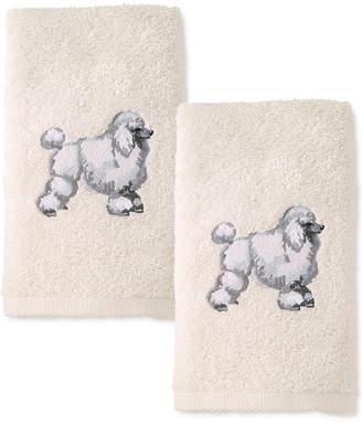 Avanti Dog 2-Pc. Cotton Hand Towel Set Bedding