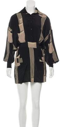 Sheri Bodell Embellished Mini Dress