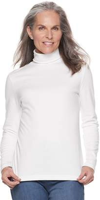 Croft & Barrow Women's Classic Turtleneck Top