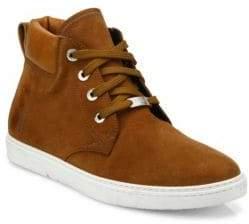 Jimmy Choo Smith Suede Chukka Sneakers