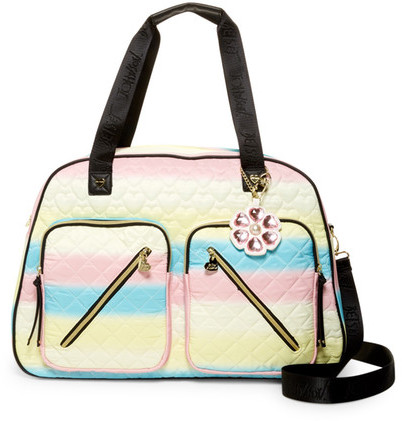 Betsey Johnson Betsey Johnson Floral Cargo Weekend Bag