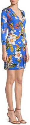 Diane von Furstenberg New Julian Mini Wrap Dress