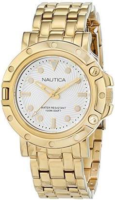Nautica Women's 'NST 800' Quartz Stainless Steel Casual Watch, Color:Silver-Toned (Model: NAD17529L) $175 thestylecure.com