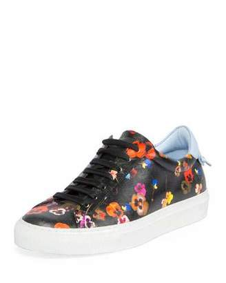 Givenchy Urban Knots Floral-Print Low-Top Sneaker, Multi