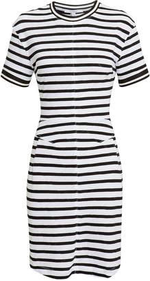 Derek Lam 10 Crosby Striped T-Shirt Dress