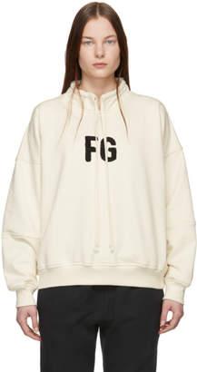 Fear Of God Off-White FG Mock Neck Pullover