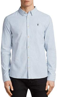 AllSaints Kilda Slim Fit Button-Down Shirt