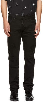 DSQUARED2 Black Bull Slim Jeans