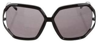 Gianfranco Ferre Hexagon Shaped Sunglasses