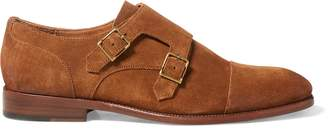 Ralph Lauren Ardenall Suede Monk-Strap Shoe
