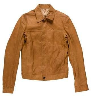 Rick Owens Leather Work Jacket