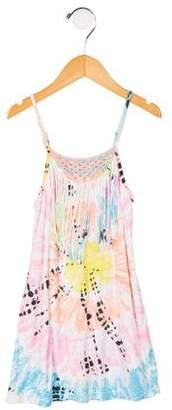 Flowers by Zoe Girls' Fringe Tie Dye Dress