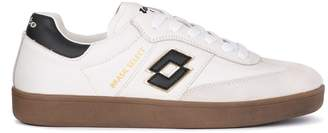 Lotto Leggenda Lotto Brasil Select Black And White Leather Sneaker