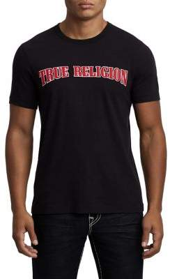 True Religion MENS ICON APPLIQUE LOGO TEE